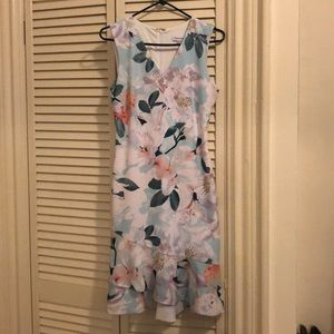 Calvin Klein floral dress size 4